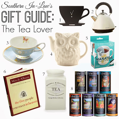 Tea Lover Gift Guide - Christmas 2013