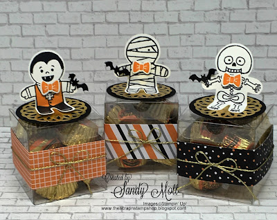 Cookie Cutter Halloween Treat Boxes, Created by Sandy Mott, The Scrap N' Stamp Shop