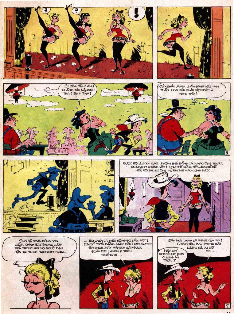 Lucky Luke tap 18 - ki si ao trang trang 39
