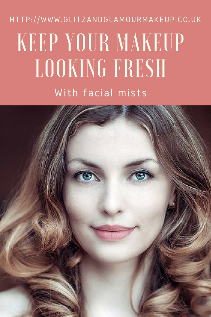 keep your makeup looking fresh with facial mists