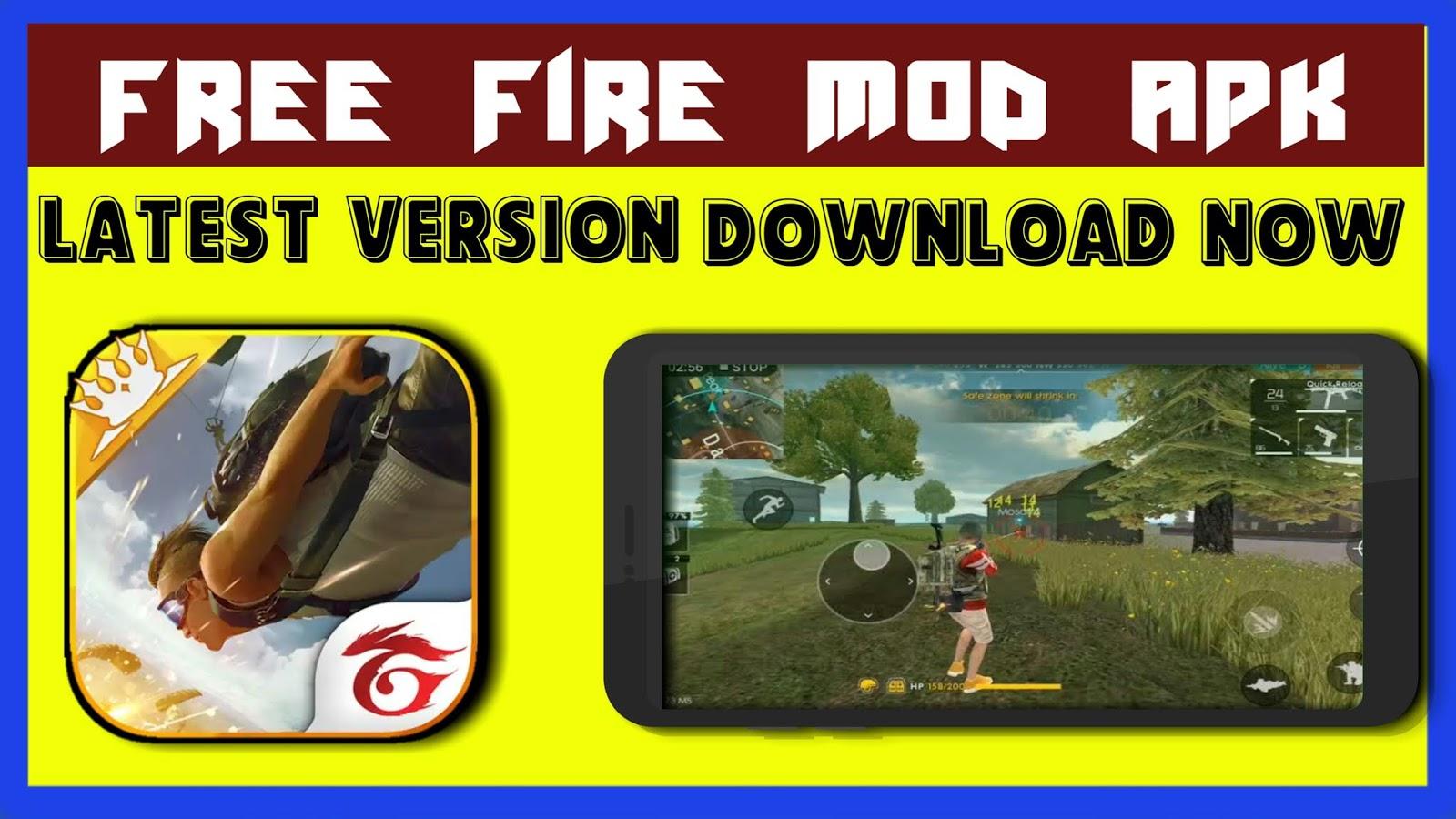 Download latest garena free fire mod apk 2019 - MLC GYANS