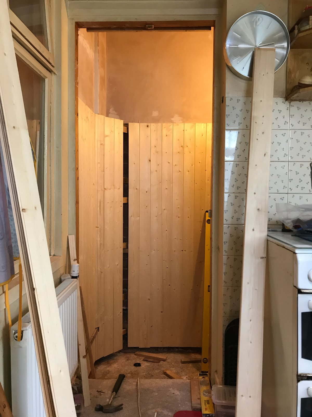 DIY pantry renovation