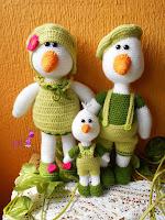 familia-oca-amigurumi