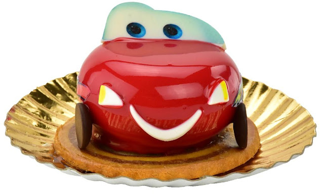 Lightning McQueen mousse at Disney Hollywood Studios