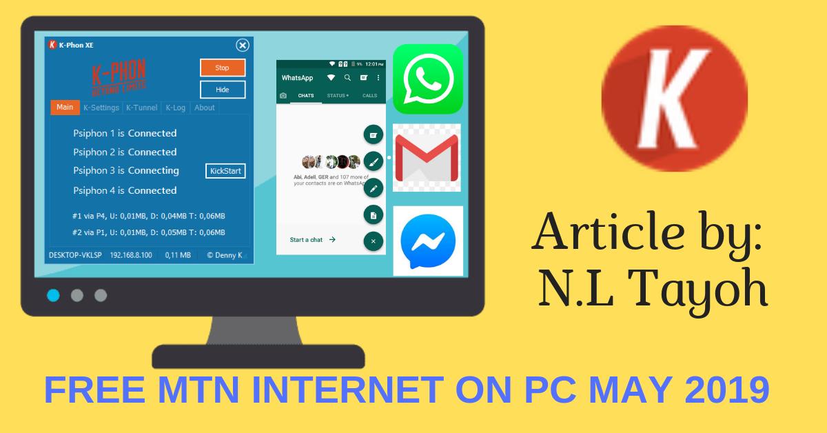 Mtn Free Internet Settings