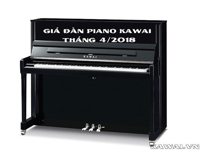 Cập nhật giá đàn piano Kawai tháng 4 - 2018