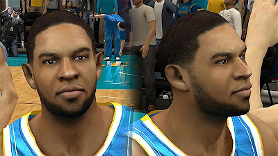 NBA 2K13 Xavier Henry Cyberface Patch