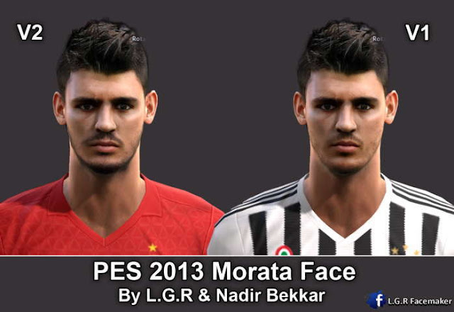 PES 2013 Álvaro Morata New Face