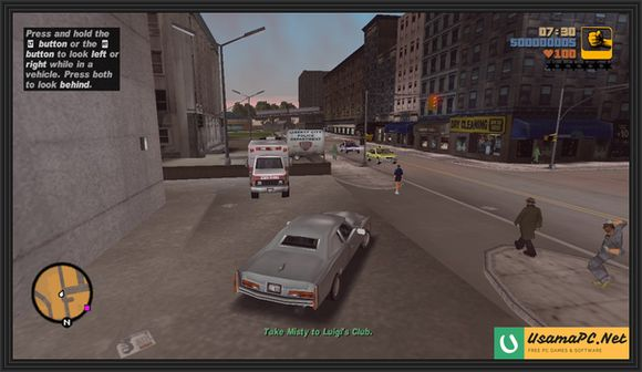 Grand Theft Auto 3 Gameplay Screenshot