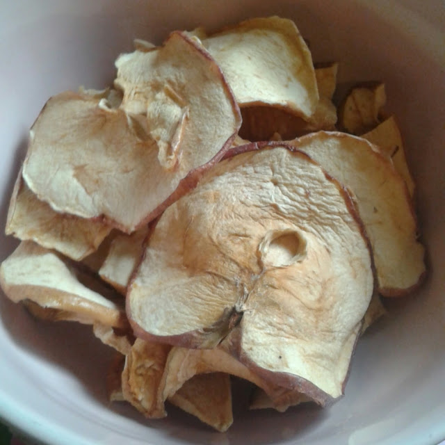 Nim's fruit and vegetable crisps, apple crisps