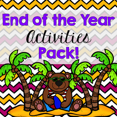 End of the Year Activities Pack