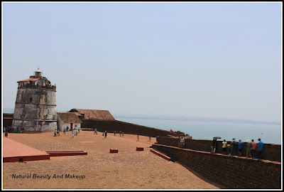 Sea view from Aguada Fort. Things to do in Candolim, Goa