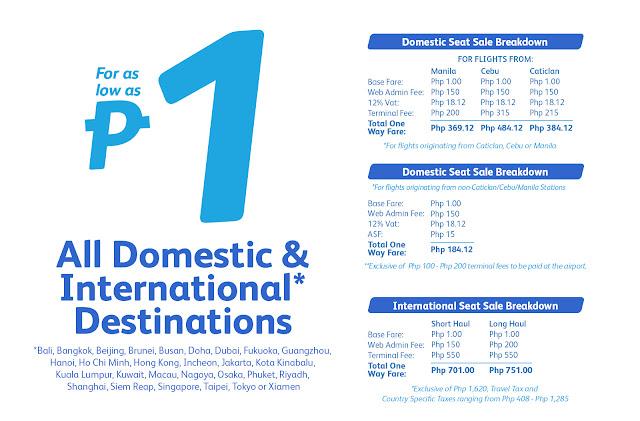 Cebu Pacific Piso Fare Cheap Flights 2016