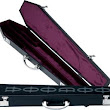 Romancing the Goth: Recommendation: VOODOO coffin pool cue case