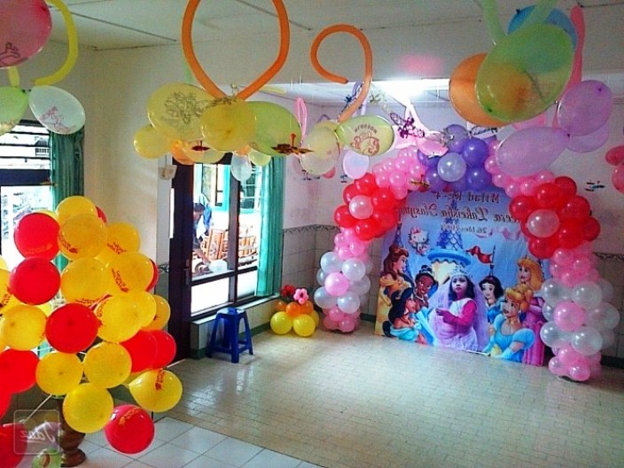 contoh gambar dekorasi ulang tahun sederhana
