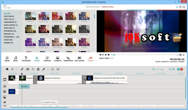 Wondershare Filmora 7 direct Download link