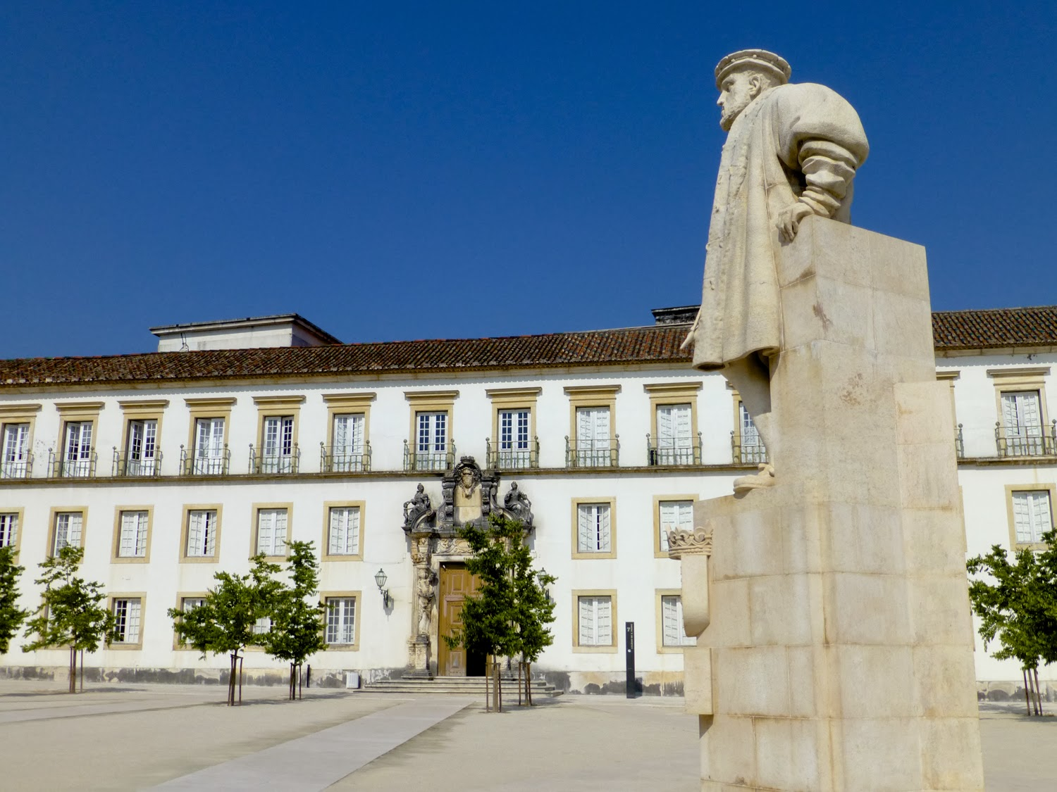 Patio e Paço das Escolas, Universidad de Coimbra