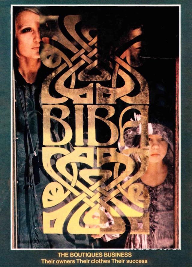 Barbara Hulanicki Biba Kensington High Street 1970s