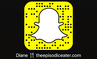 Snapchat Code on The Episodic Eater