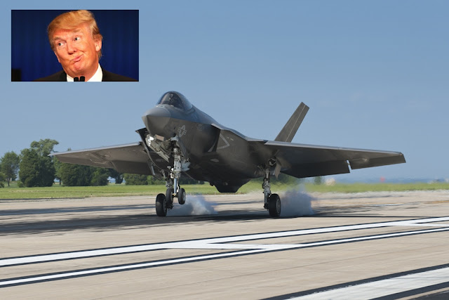 LOCKEED MARTIN REPLIES TO TRUMP'S F-35 COMMENTS