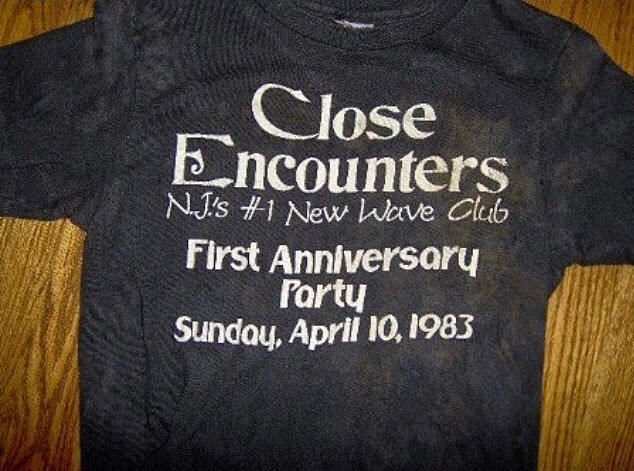 Close Encounters t-shirt (front)