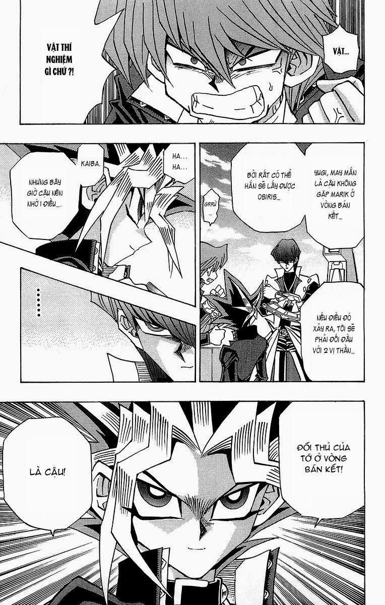 YUGI-OH! chap 243 - jonouchi và marik trang 10