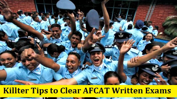 Killter Tips to Clear AFCAT Written Exams