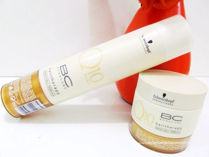 Shampoo e Máscara Schwarzkopf Q10 Plus