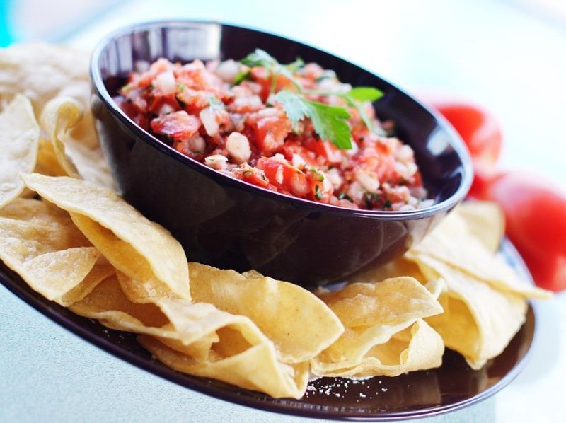 christmas homemade snacks mexican salsa nachos