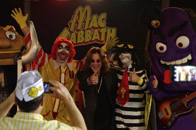 Ozzy conoce a Mac Sabbath