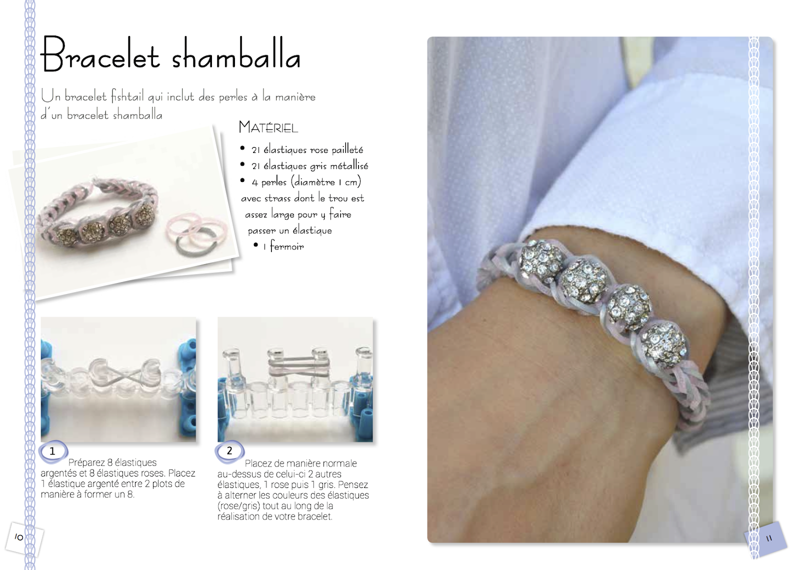 comment faire un bracelet shamballa facilement. Black Bedroom Furniture Sets. Home Design Ideas