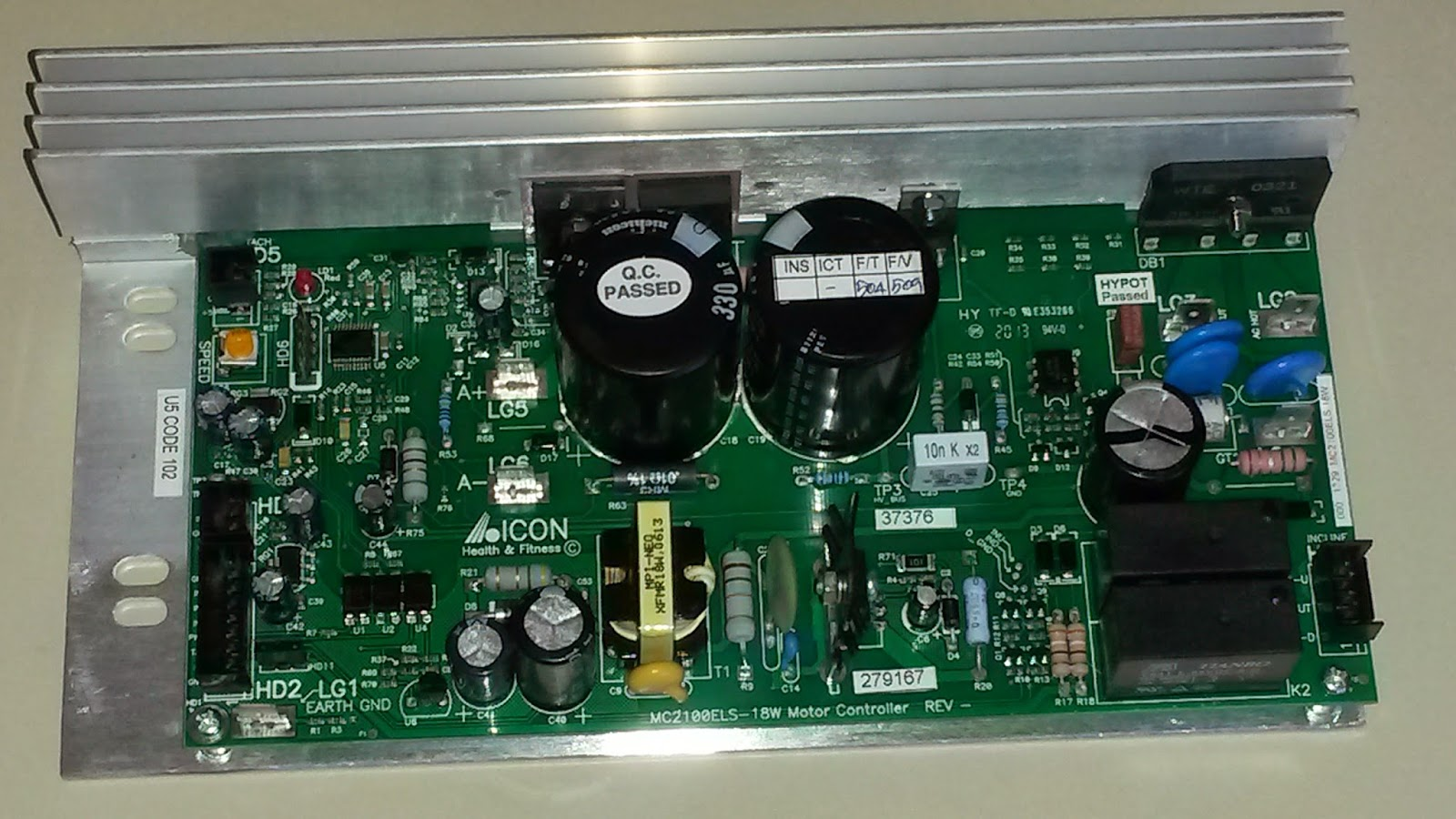 treadmill power supply wiring diagram [ 1600 x 900 Pixel ]