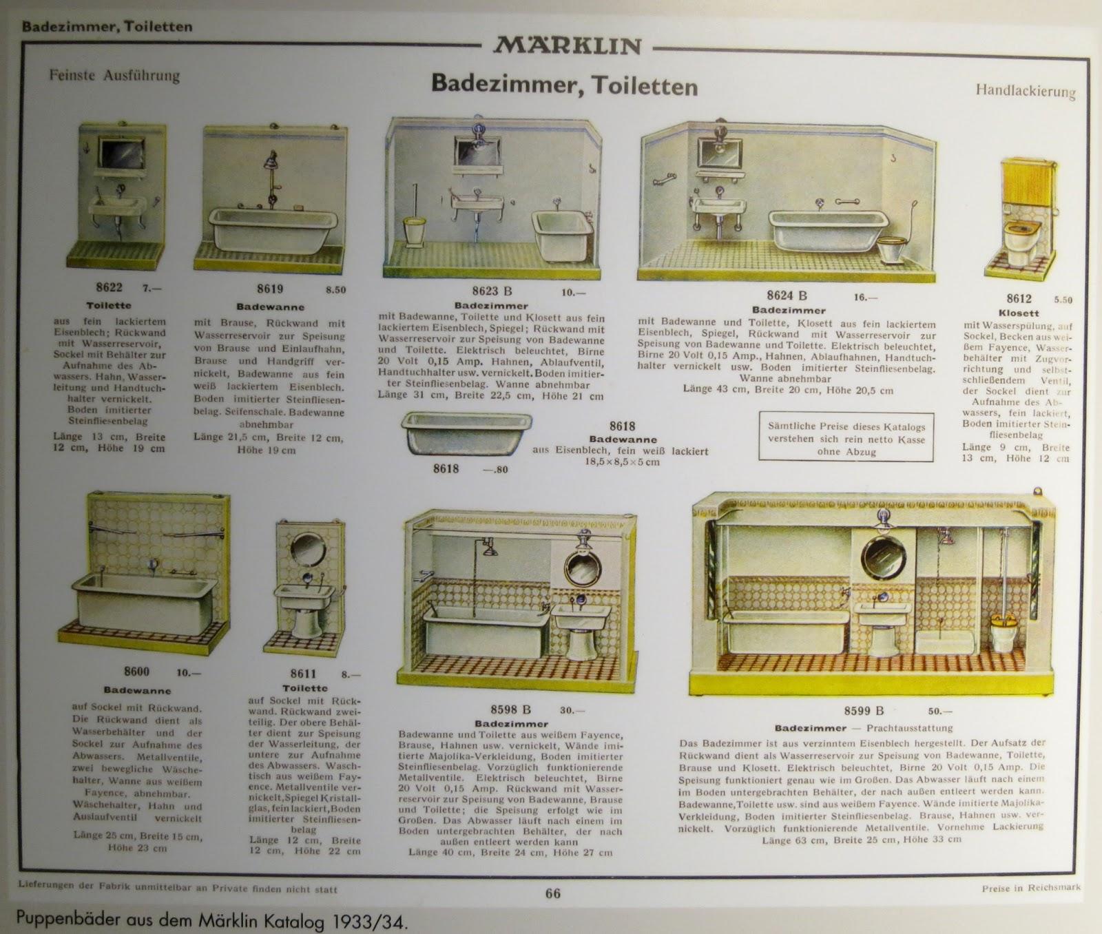 diepuppenstubensammlerin: februar 2013, Badezimmer ideen