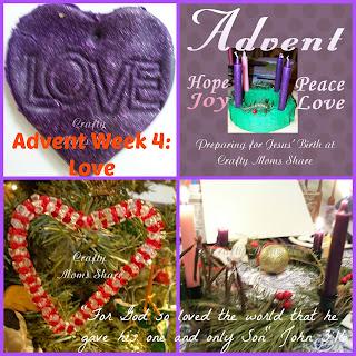 crafty moms share advent week 4 love. Black Bedroom Furniture Sets. Home Design Ideas