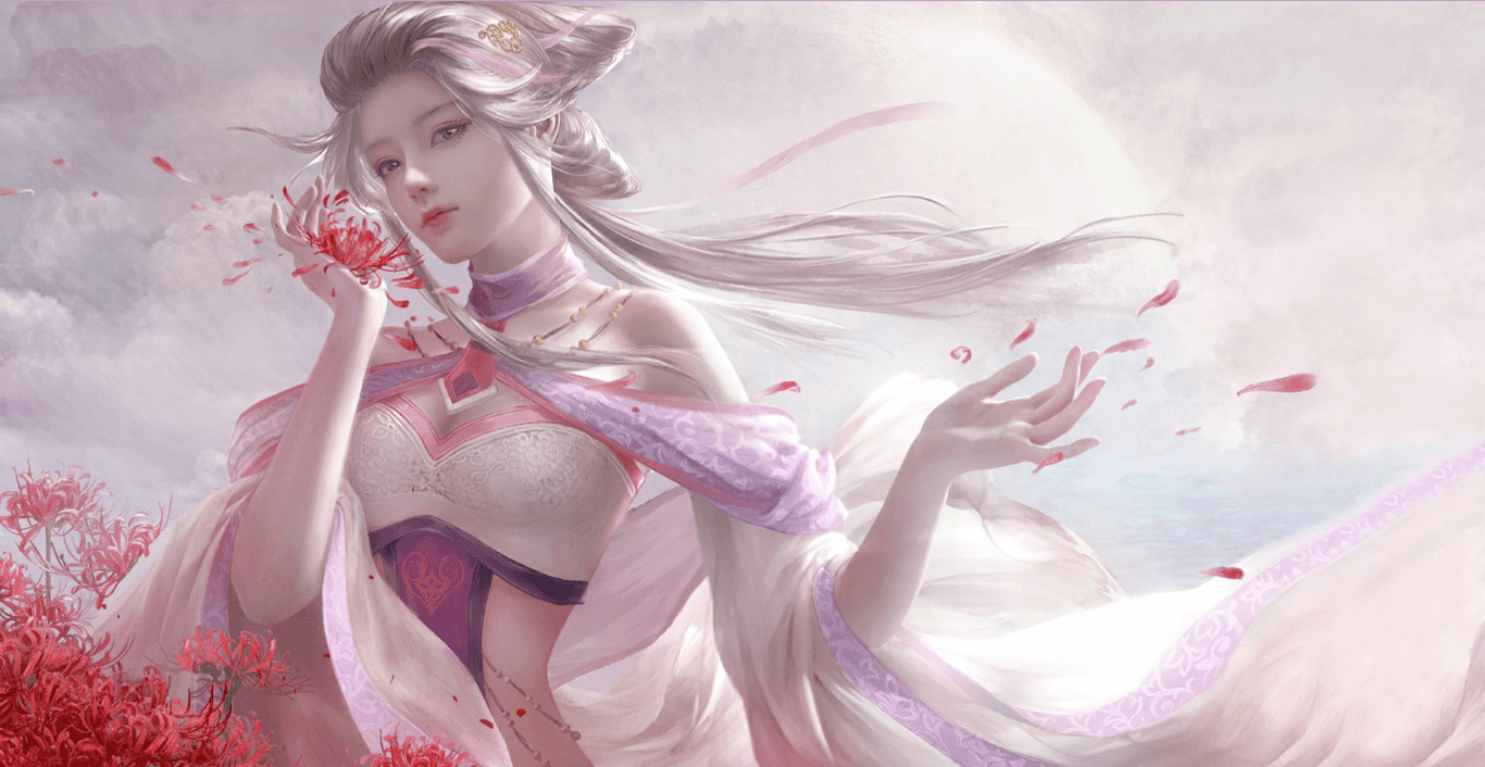 Beautiful Flower Girl [Wallpaper Engine Free]
