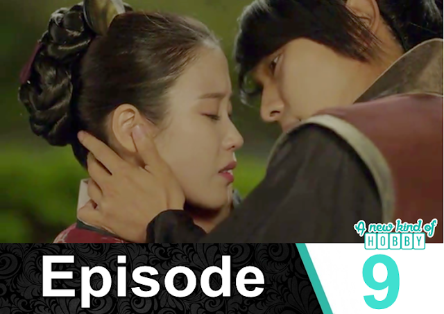 4th king and hae soo aggressive kiss - Moon Lover Scarlet Heart Ryeo - Episode 9 - Review