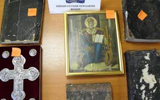 Σοκ στο Βόλο: Ακόμα και λειψανοθήκες με λείψανα Αγίων στα χέρια 33χρονου – Συνελήφθη με αρχαία εκκλησιαστικά αντικείμενα