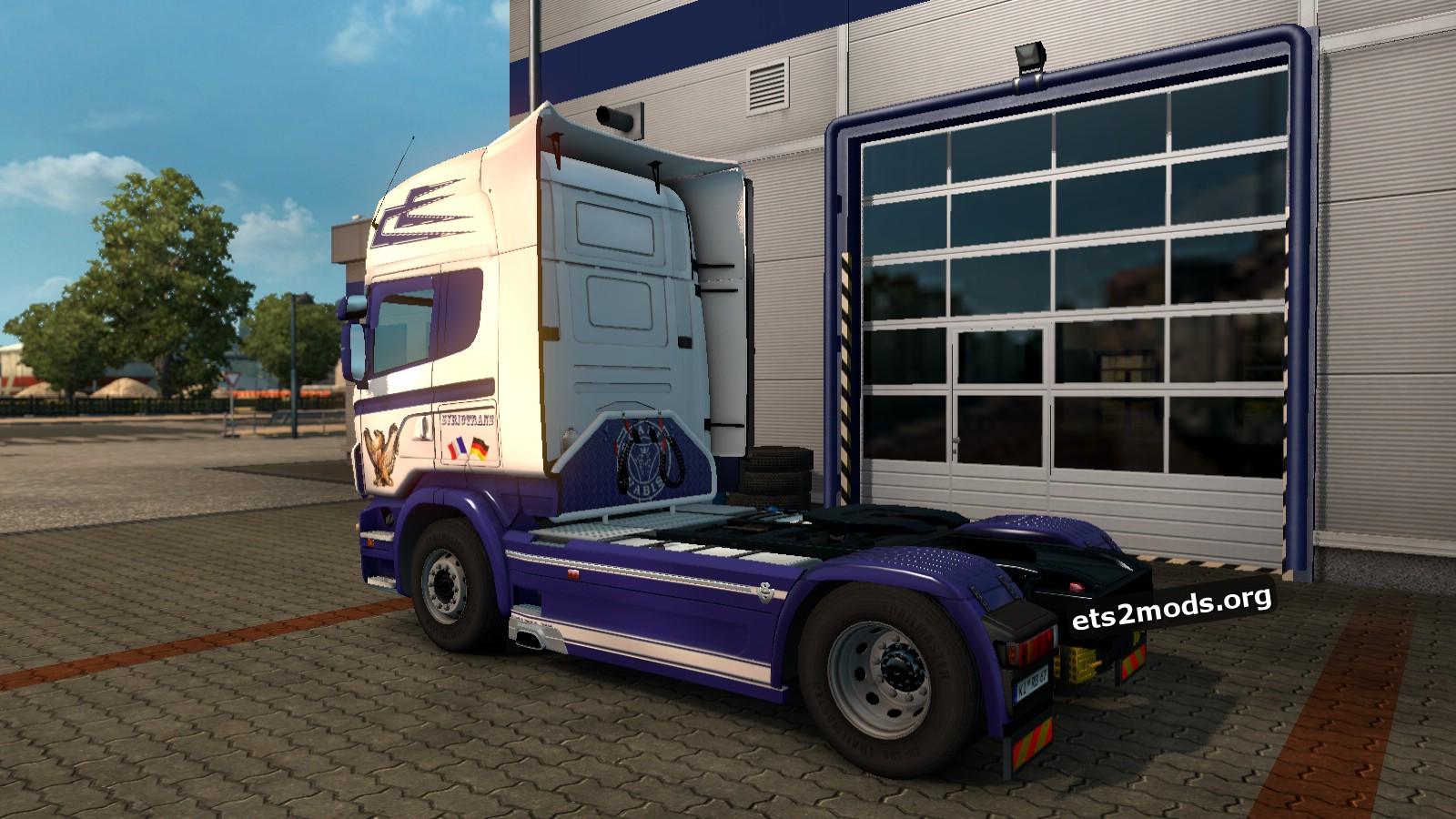 SyrioTrans Skin for Scania RJL