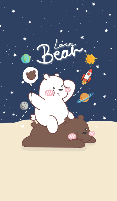 Bear Lover Galaxy (Blue ver.)