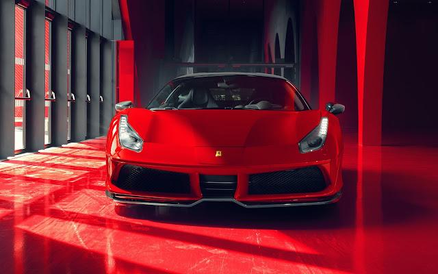 Papel de parede Pogea Racing FPlus Corsa Ferrari 488 GTB