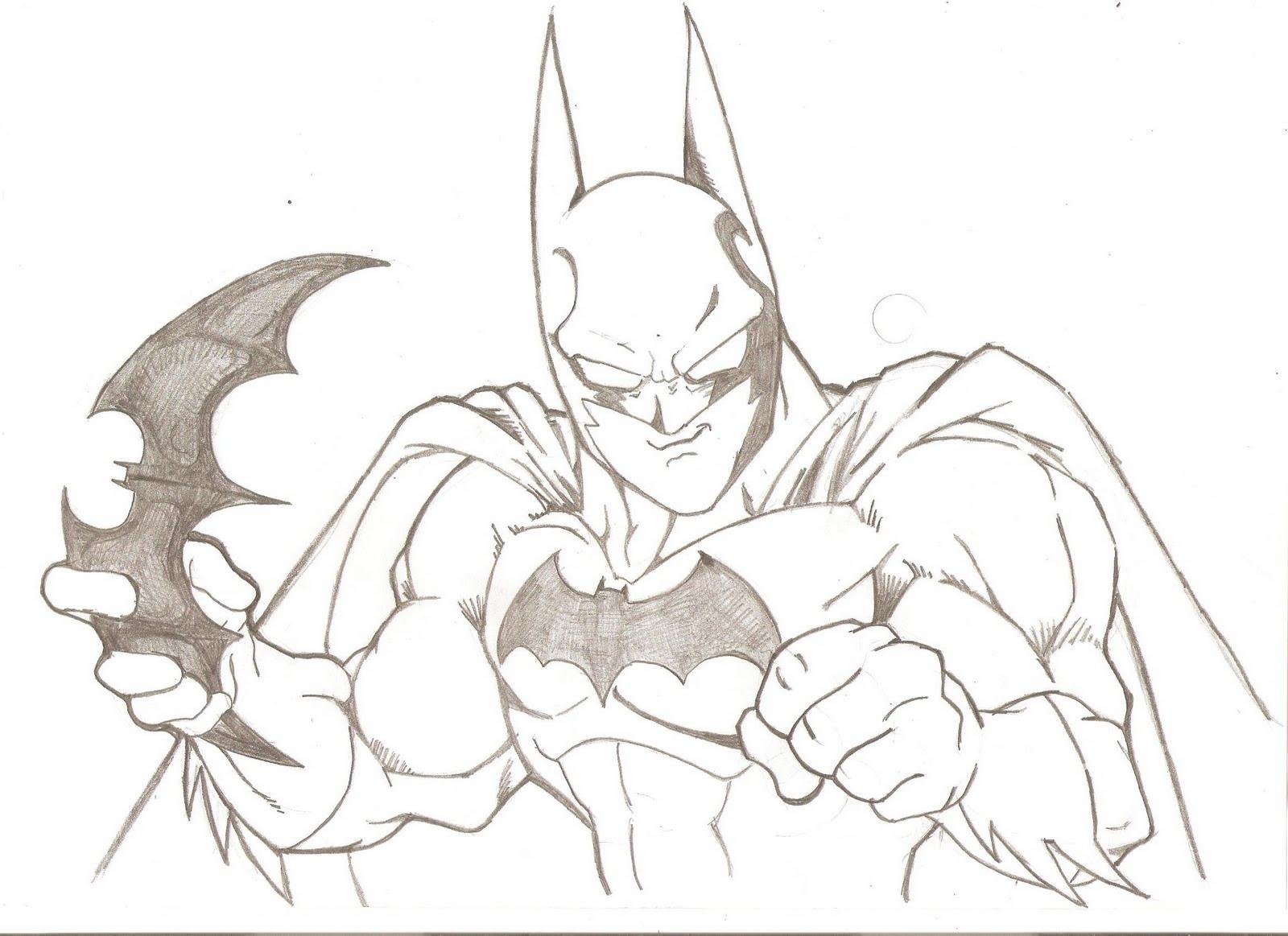 Blog MegaDiverso: Batman Para Descargar Y Colorear