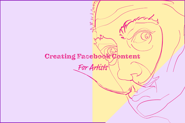 creating facebook content, creating content for social media,