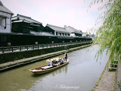 日本の風景 栃木市の風景 旧例幣使街道 紫陽花 散歩 巴波川