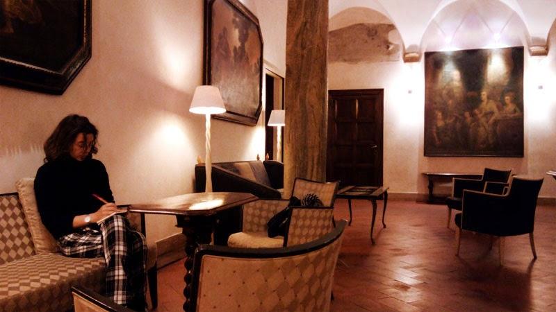 lobby hotel columbus - Hotel Columbus - onde ser recebido como um papa
