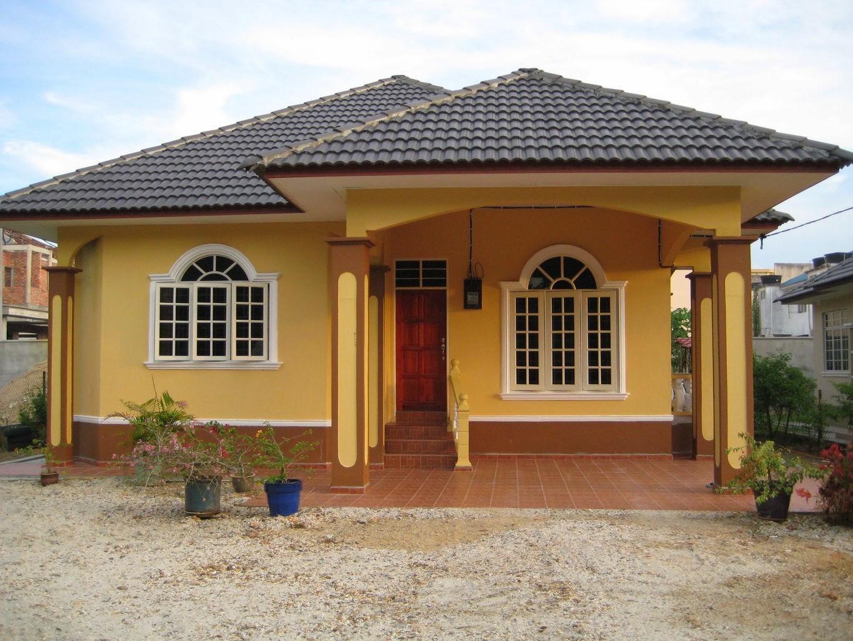 contoh rumah idaman di desa  4