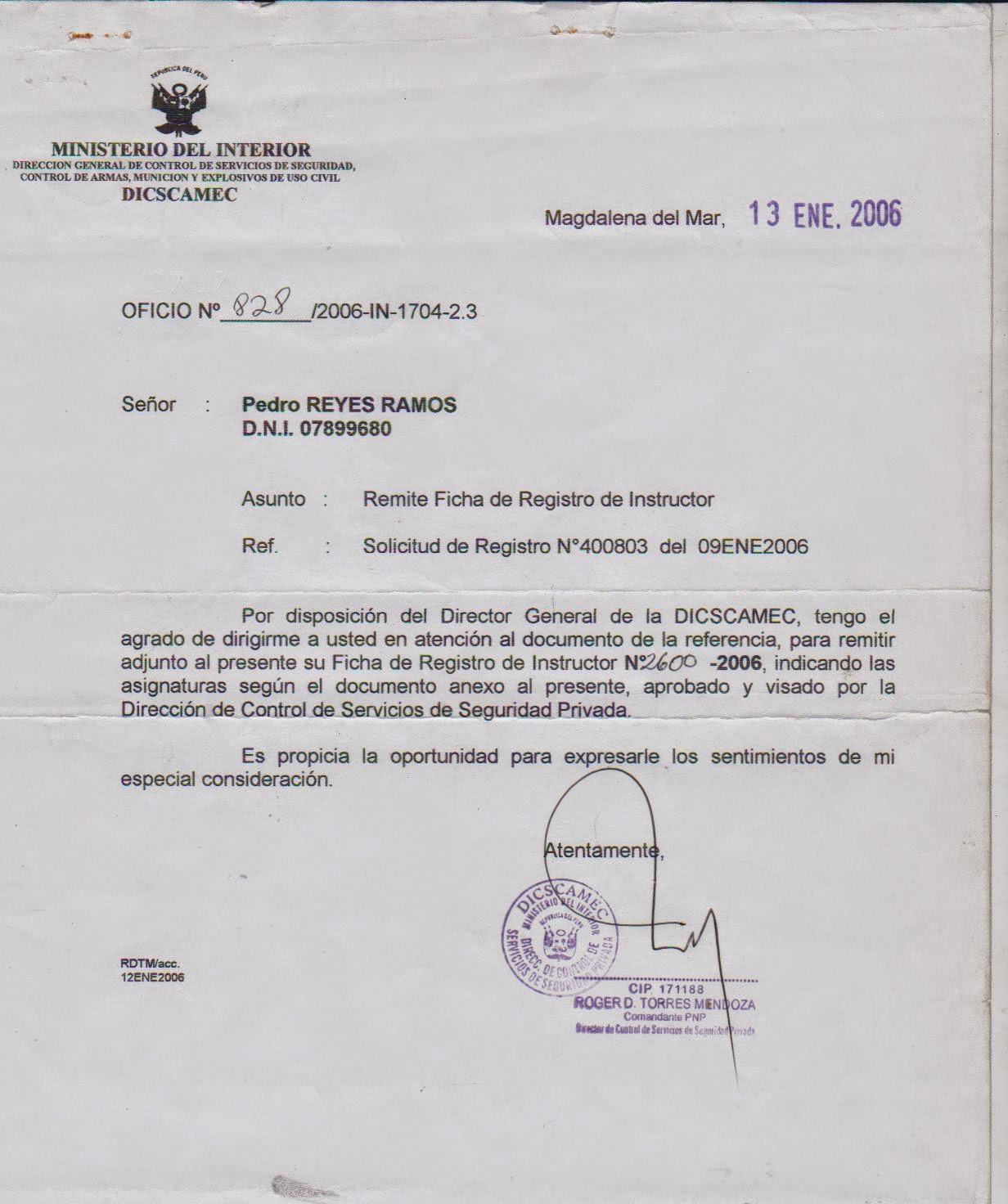 Tiro defensivo peru nuevas denuncias contra la banda tiro for Ministerio del interior peru