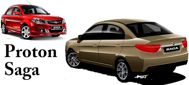Proton Saga - 10 Model Kereta Pilihan Rakyat Malaysia 2016