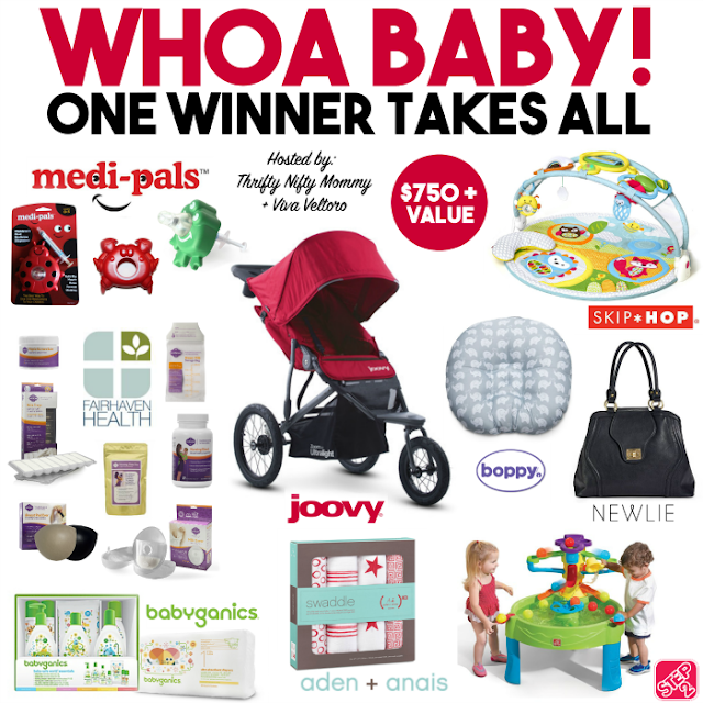 Whoa Baby! Giveaway Event, RV $750+, Ends 5/27