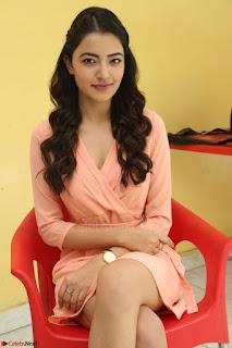 Rukshar Mir in a Peachy Deep Neck Short Dress 062.JPG