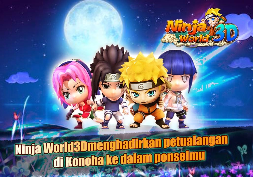 Download Naruto Ninja World 3D Pro v2.1.17 Apk